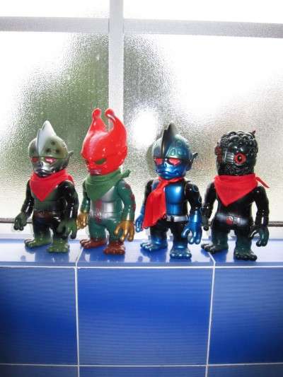 day 249 - four RxH Kamen Rider Toys