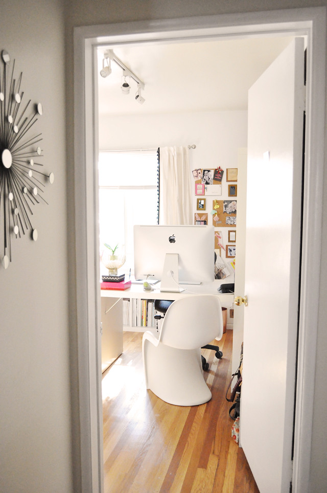 my home office and dressing room - closet