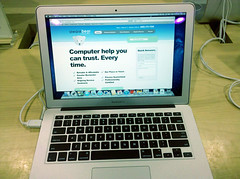 Apple Mac Computer Repair -Rochester NY-AwareBear Computers -MacBook Air 6 (andreleitealves) Tags: desktop ny apple notebook jack dc mac laptop best led rochester repair service ac lcd pittsford upgrades macbook bearaware macbookair awarebear andreleitealves andreleitealvescom alldaybatterylife