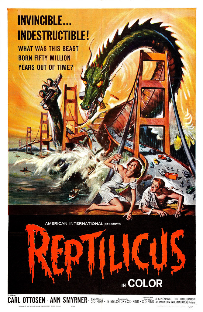 Reynold Brown - Reptilicus (American International, 1961)