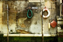 Boat Tie-Up (michael.elliot) Tags: life old venice italy abstract boat canal tie rope ring fender