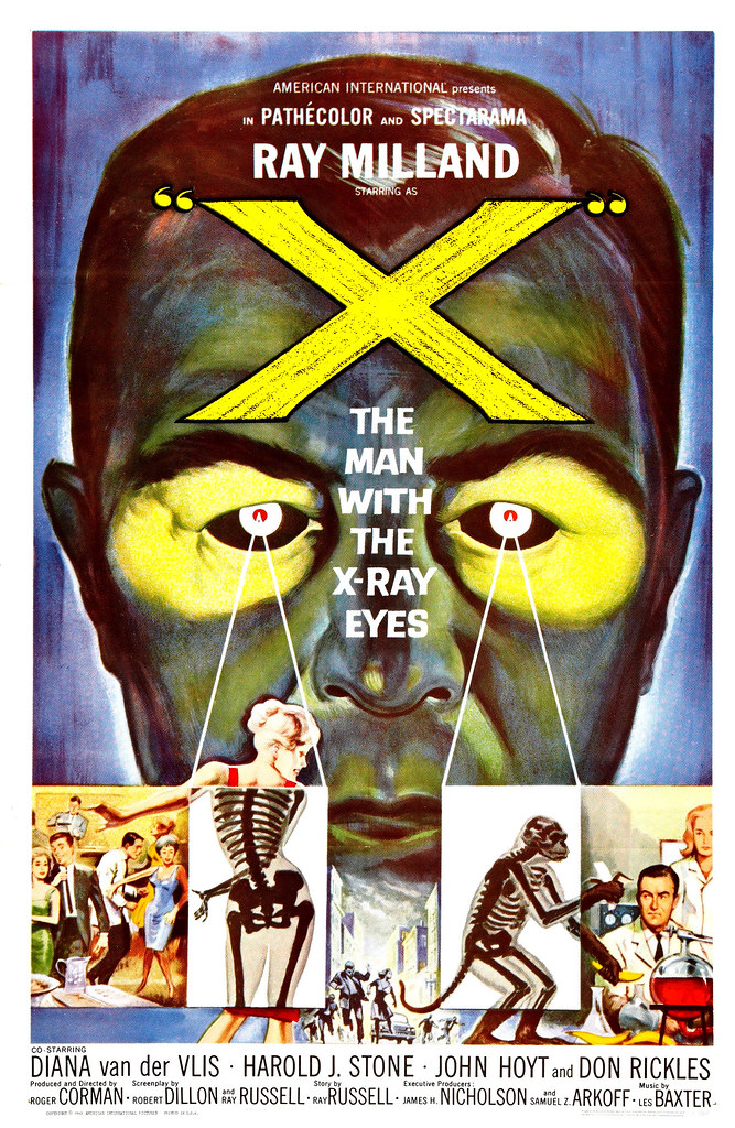 Reynold Brown - X - The Man with the X-Ray Eyes (American International, 1963)