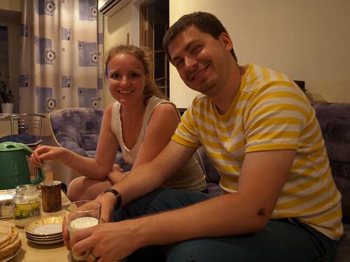 Olya y Stas