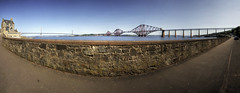 scotland forth bridge panorama (mariusz kluzniak) Tags: uk bridge panorama scotland edinburgh europe stitch suspension britain steel sony great wide bridges forth both alpha 580 a580