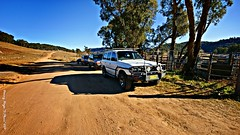 Waiting @ the stockyards (smortaus) Tags: camping trees sunset wild sky people cold bus nature rural radio sunrise landscape fun outdoors photo nationalpark bush track nissan jeep mud offroad 4x4 action weekend hill sigma australia 4wd wideangle ham hills dirt nsw toyota gwc suzuki kia cb vitara landrover patrol isolated valleys paddock jimny hilux austalia 2011 wolleminationalpark kandos sigma1020mmlens 27mhz wolleminp australianimage nswlandscape dannyhayes sigmawideanglelense gospers 30thjuly2011 gospersmountan autralianimage gospersmountain jeepgrandcherokeegwd dannyhayesremote autrslianphotos 4wdinnsw australian4wdimages photosof4wd drivingofroad 10mmto20mm danielfhayes1962nswaustralia photosbydannyhayescopyright2013nswaustralia