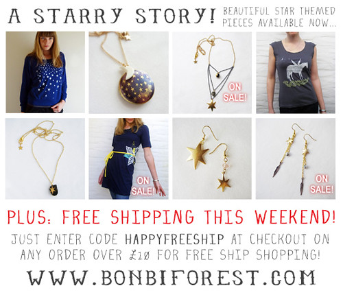 A Starry Story...with Free Shipping!