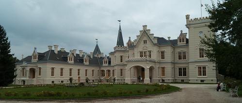 Nádasdy-kastély homlokzat