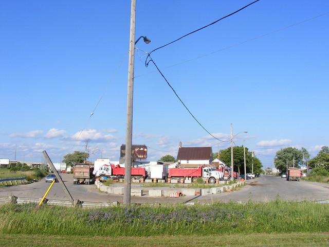 Old corner of Steeles and Albion