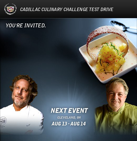 Cadillac Culinary Challenge Test Drive