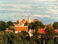 ドイ・ステープ山頂寺院とチェンマイ市内観光(食事なし)
