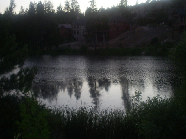 Grass Valley Lake Near Sunet