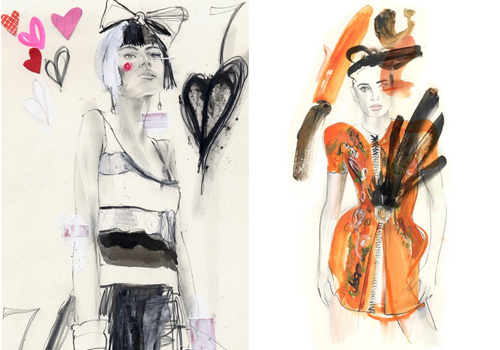 6013702571 f35a285b2a 30 Fashion Illustrators You Can't Miss Part 3