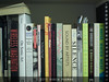 Zuiko bookshelf test f/1.4