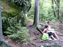 Jen and Chris at Gulf Hagas (ems18) Tags: chris summer hiking jennifer maine august appalachiantrail screwaugerfalls gulfhagas 100milewilderness piscataquiscounty