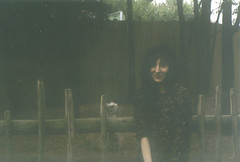 (i'm a witch) Tags: film rain self dark zoo witch ghost llama scan underexposure