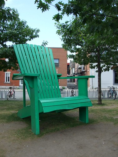 Giant Green Chair