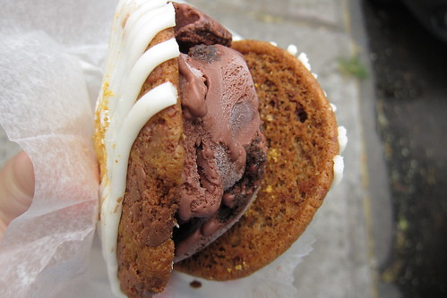CoolHaus Smores & Chocolate Sandwich