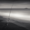 Big Catch (~ superboo ~ [busy busy]) Tags: ocean morning beach fishing fisherman sand waves pacific overcast shore rod pacifica reeling artisticlicense