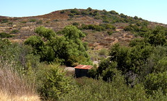 Tin Roof. Rusted. (Ari Lynn Day) Tags: california summer camp beautiful cattle hills backcountry southerncalifornia orangecounty irvine newportcoast bommercanyon