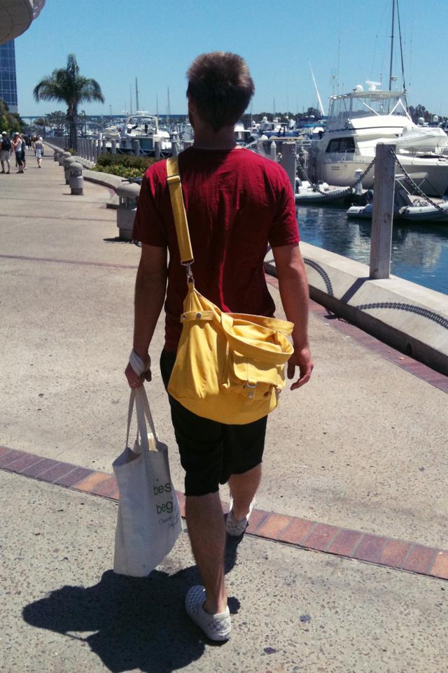 scott carrying morgans bags
