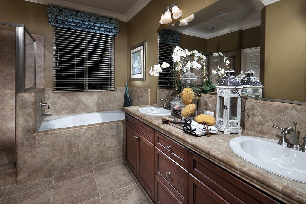 Ashberry Model Home: Master Bathroom