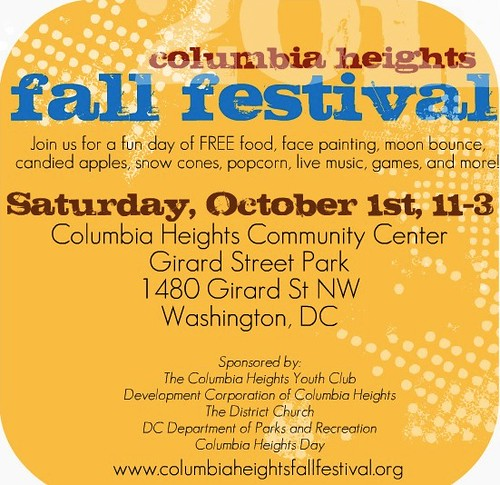 Columbia Heights Fall Festival Is This Saturday