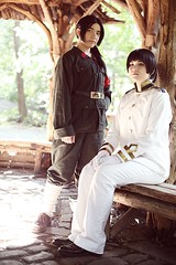 China & Japan - Hetalia (orangeharo) Tags: china japan cosplay wangyao hetalia kikuhonda