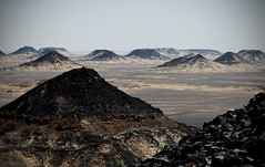 [Free Image] Nature / Landscape, Desert, Sahara, Egypt, 201110030100
