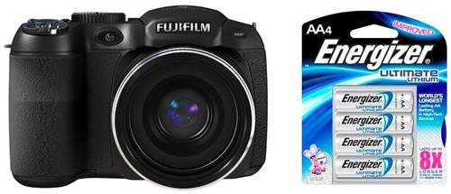 Fujifilm S2950 plus AA batteries – Battery Life