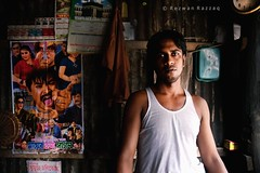 The Tea Boy (Rezwan Razzaq) Tags: light boy shadow portrait people man living nikon tea working lifestyle stall maker barista bangladesh shopkeeper