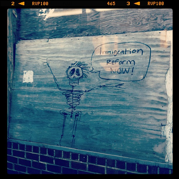Immigration Reform Grafitti