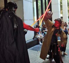 Hellboy versus Sith (KrystalClaxton) Tags: costume cosplay convention hellboy dragoncon bprddragoncon