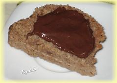 BIZCOCHO DE CHOCOLATE Y SALVADOS EN EL MICROONDAS