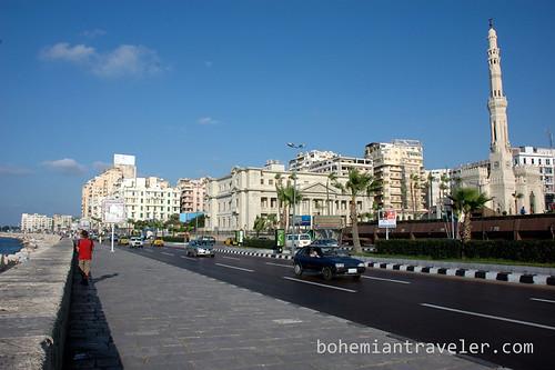 Corniche of Alexandria