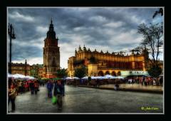 Cracovia - Plaza del mercado principal (Rynek Glowny) (Julio_Castro) Tags: nikon europa cities ciudades polonia cracovia krakov rynekglowny nikond200 ciudadeseuropeas olétusfotos