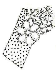 Riscos - Flores (Acrilex) Tags: flores artesanato artes riscos acrilex