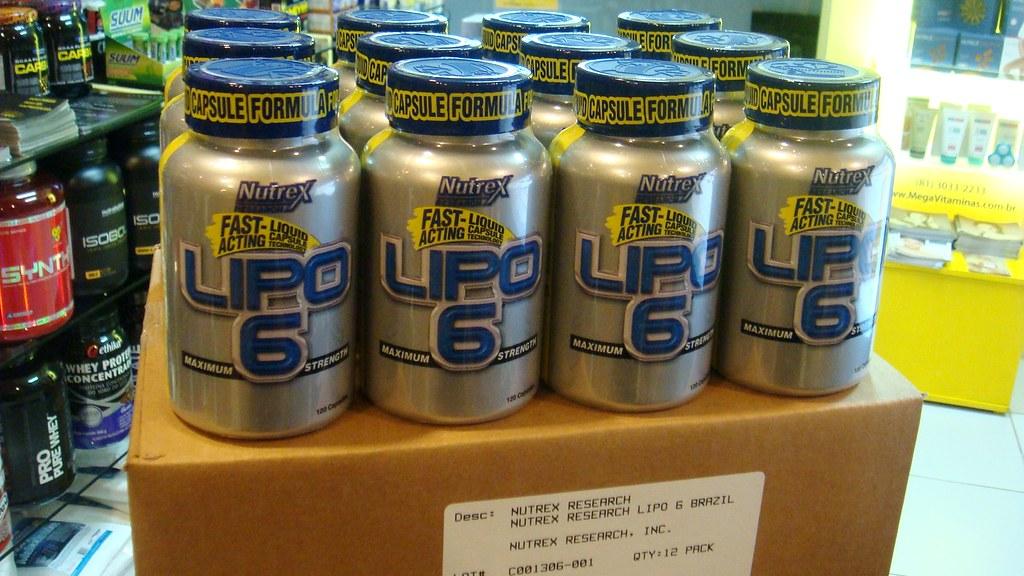 Chegou LIPO-6 da Nutrex, o termogênico mais vendido nos EUA