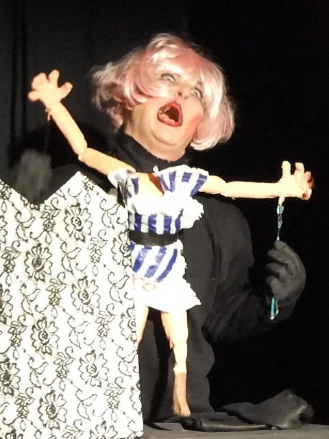 Pink Flamingo Puppet Cabaret