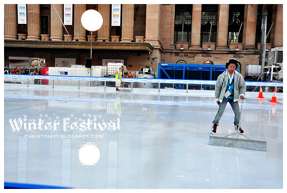 Brisbane Winter Festival 2011 at King George Square