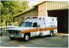 Richardson, Texas Fire Department - 1979 Chevrolet / Modular Corp., MICU. Their first modular unit (Dr. Mo) Tags: texas ambulance modular emergency firefighter ems 1979 firedepartment richardson procar micu drmo robertknowles