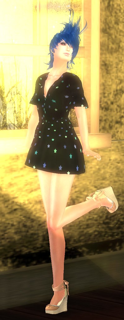 ::C'est la vie !:: star mini dress - Twinkle Night Bazzar