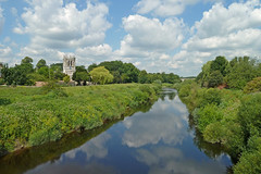 View from the Bridge, Tadcaster by Tim Green aka atoach
