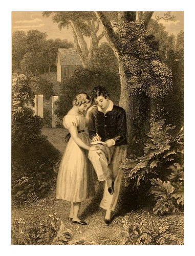 010-Ultimo adios al amor-The Byron and Moore gallery a series of characteristic illustrations..1871