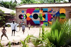 """GAMBIA. Art by Remed"""" """"Pic by Jonx Pillemer"""