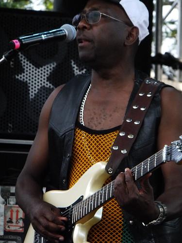 Ras Lee at Bluesfest