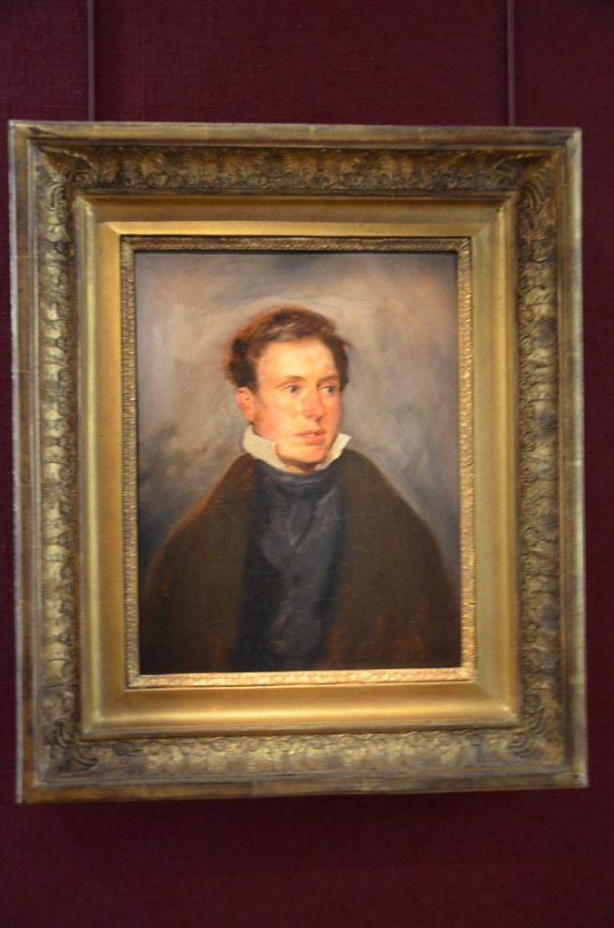 Portrait de Thalès Fielding - Eugène Delacroix