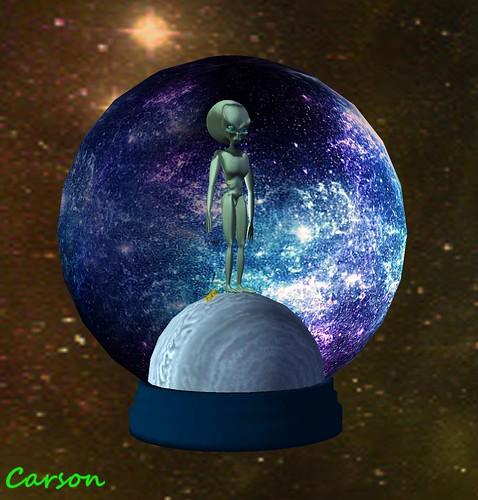 Visions Gallery - Alien YoYo Globe