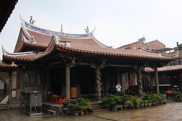 一級古蹟鹿港龍山寺040