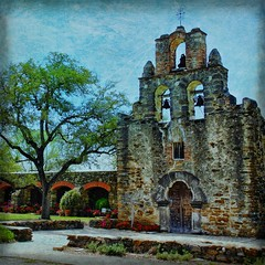 Mission Espada (PCsAHoot - Taking a Break) Tags: texture texas mission hdr missionespada tatot imagesforthelittleprince 1001nightsmagiccity ringexcellence
