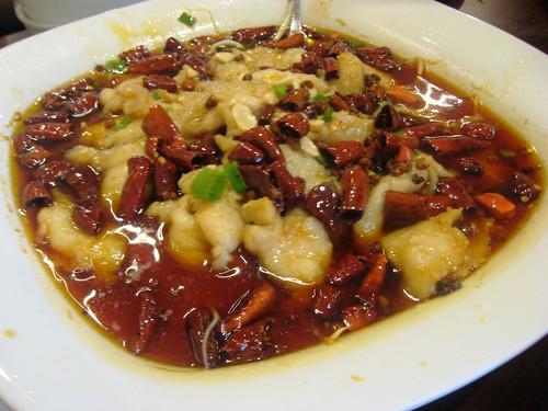 Szechuan Fish dish